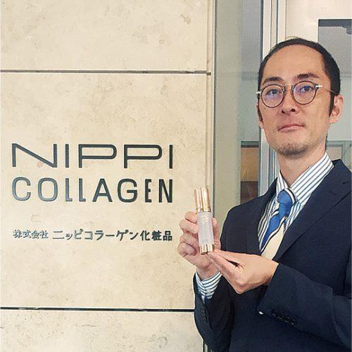 ニッピコラーゲン化粧品保木円佳さん